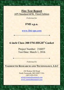 Fmhigh API 6FB FIRE SAFE